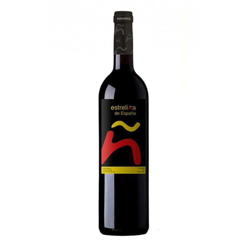 Estreliña De España Tinto Vino Tinto Joven Cestashop