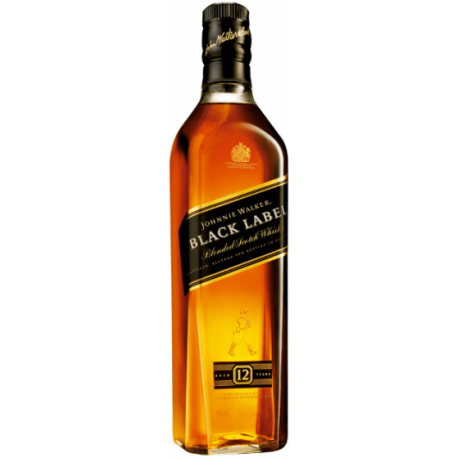 Whisky Johnnie Walker Black 12 Años